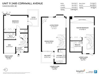 """Photo 16: 11 2485 CORNWALL Avenue in Vancouver: Kitsilano Townhouse for sale in """"CORNWALL COURT"""" (Vancouver West)  : MLS®# R2412109"""