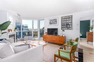 "Photo 2: 604 1425 W 6TH Avenue in Vancouver: False Creek Condo for sale in ""MODENA OF PORTICO"" (Vancouver West)  : MLS®# R2447311"