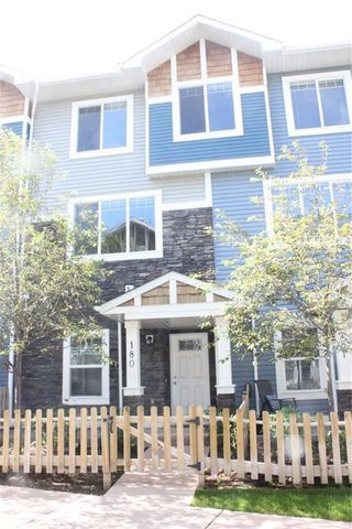 Photo 1: 180 2802 KINGS HEIGHTS Gate SE: Airdrie Row/Townhouse for sale : MLS®# C4302542
