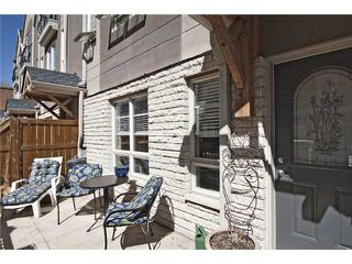 Photo 16: 11 1729 34 Avenue SW in CALGARY: Altadore_River Park Townhouse for sale (Calgary)  : MLS®# C3566973