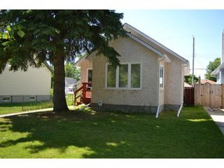 Photo 1: 266 Hampton Street in WINNIPEG: St James Residential for sale (West Winnipeg)  : MLS®# 1317692