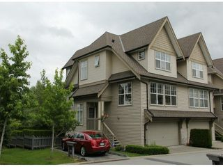 "Photo 1: 35 8089 209TH Street in Langley: Willoughby Heights Townhouse for sale in ""Arborel Park"" : MLS®# F1416454"