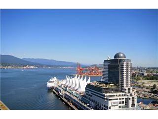 Photo 2: # 2509 1011 W CORDOVA ST in Vancouver: Coal Harbour Condo for sale (Vancouver West)  : MLS®# V1099167