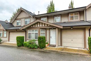 "Photo 1: 67 15968 82 Avenue in Surrey: Fleetwood Tynehead Townhouse for sale in ""SHELBOURNE LANE"" : MLS®# R2411791"