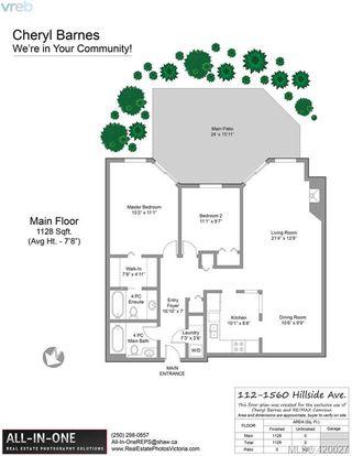 Photo 2: 112 1560 Hillside Avenue in VICTORIA: Vi Oaklands Condo Apartment for sale (Victoria)  : MLS®# 420027