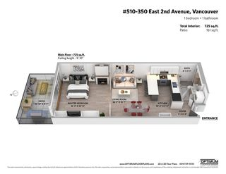 """Photo 37: 510 350 E 2ND Avenue in Vancouver: Mount Pleasant VE Condo for sale in """"MAINSPACE LOFTS"""" (Vancouver East)  : MLS®# R2478803"""