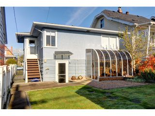 """Photo 8: 3570 TRIUMPH Street in Vancouver: Hastings East House for sale in """"THE HEIGHTS"""" (Vancouver East)  : MLS®# V989031"""