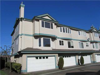 "Photo 1: 14 22800 WINDSOR Court in Richmond: Hamilton RI Townhouse for sale in ""PARC SAVANNAH"" : MLS®# V996472"