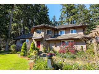 Photo 1: 221 WESTRIDGE LN: Anmore House for sale (Port Moody)  : MLS®# V1117237