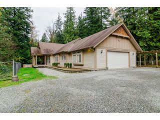 Photo 1: 12156 BELL STREET in Mission: Stave Falls House for sale : MLS®# R2013918