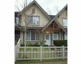 "Photo 1: 8415 CUMBERLAND Place in Burnaby: East Burnaby Townhouse for sale in ""ASHCOMBE"" (Burnaby East)  : MLS®# V625353"