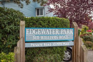 "Main Photo: 104 3031 WILLIAMS Road in Richmond: Seafair Townhouse for sale in ""EDGEWATER PARK"" : MLS®# R2513589"
