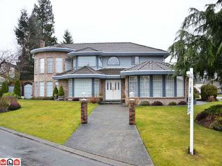 "Photo 1: 15690 93A Avenue in Surrey: Fleetwood Tynehead House for sale in ""BEL-AIR ESTATES"" : MLS®# F1204175"