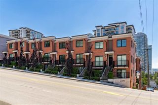"Photo 1: 27 838 ROYAL Avenue in New Westminster: Downtown NW Townhouse for sale in ""BRICKSTONE  WALK II"" : MLS®# R2408231"