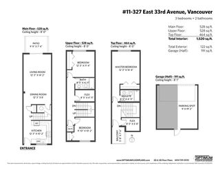 Photo 10: 11 327 E 33RD AVENUE in Vancouver: Main Townhouse for sale (Vancouver East)  : MLS®# R2410128