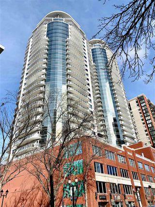 Photo 1: 605 10136 104 Street in Edmonton: Zone 12 Condo for sale : MLS®# E4192924