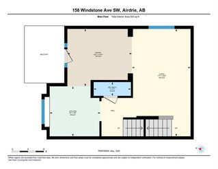 Photo 42: 158 WINDSTONE Mews SW: Airdrie Row/Townhouse for sale : MLS®# C4295967