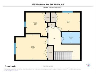 Photo 43: 158 WINDSTONE Mews SW: Airdrie Row/Townhouse for sale : MLS®# C4295967