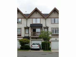 """Photo 1: 51 20540 66TH Avenue in Langley: Willoughby Heights Townhouse for sale in """"Amberleigh"""" : MLS®# F1313909"""