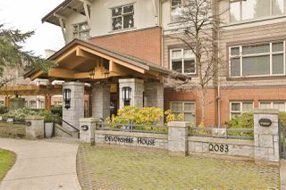 """Main Photo: 225 2083 W 33RD Avenue in Vancouver: Quilchena Condo for sale in """"Devonshire House"""" (Vancouver West)  : MLS®# R2436666"""