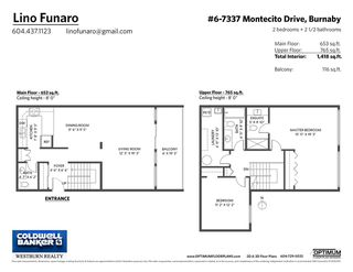 "Photo 27: 6 7337 MONTECITO Drive in Burnaby: Montecito Townhouse for sale in ""VILLA MONTECITO"" (Burnaby North)  : MLS®# R2486068"
