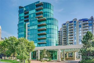 Photo 1: 703 837 2 Avenue SW in Calgary: Eau Claire Apartment for sale : MLS®# A1037629