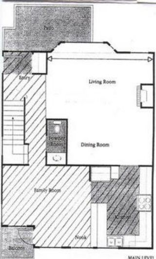 Photo 8: Show Home Condition 3 Level Townhome