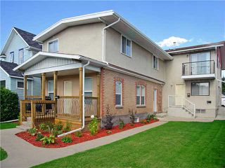 Main Photo: 418 6A Street NE in CALGARY: Bridgeland Tri-Plex for sale (Calgary)  : MLS®# C3579970
