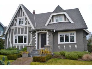 Photo 1: 1455 DEVONSHIRE CR in Vancouver: Shaughnessy House for sale (Vancouver West)  : MLS®# V1044258