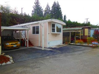 Photo 1: 15 4200 DEWDNEY TRUNK ROAD in Coquitlam: Ranch Park Manufactured Home for sale : MLS®# R2013256