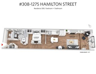 Photo 15: 308 1275 HAMILTON STREET in Vancouver: Yaletown Condo for sale (Vancouver West)  : MLS®# R2240077