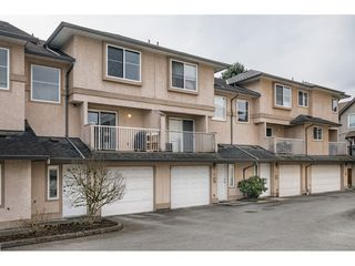 Main Photo: 17 2458 PITT RIVER Road in Port Coquitlam: Mary Hill Townhouse for sale : MLS®# R2445446