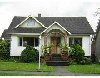 Main Photo: 3364 W 35TH AV in Vancouver: Dunbar House for sale (Vancouver West)  : MLS®# V584494