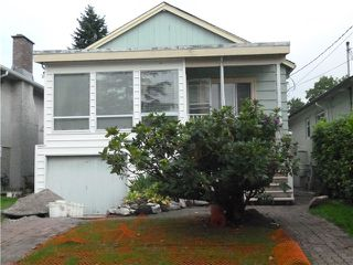 Photo 1: 2871 W 18TH Avenue in Vancouver: Arbutus House for sale (Vancouver West)  : MLS®# V1025965