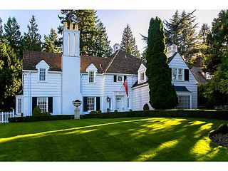 Photo 1: 1310 W 33RD AV in Vancouver: Shaughnessy House for sale (Vancouver West)  : MLS®# V1028460
