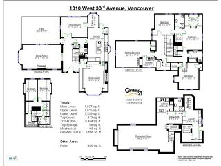 Photo 20: 1310 W 33RD AV in Vancouver: Shaughnessy House for sale (Vancouver West)  : MLS®# V1028460