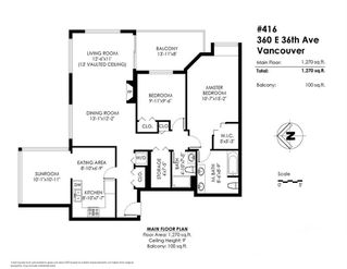 Photo 20: 416 360 E 36TH AVENUE in Vancouver: Main Condo for sale (Vancouver East)  : MLS®# R2282137