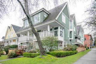 "Photo 1: 3 2305 W 10TH Avenue in Vancouver: Kitsilano Townhouse for sale in ""Park Place"" (Vancouver West)  : MLS®# R2440761"