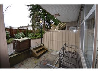 "Photo 9: 105 5155 WATLING Street in Burnaby: Metrotown Townhouse for sale in ""METRO POINTE GARDEN"" (Burnaby South)  : MLS®# V982906"