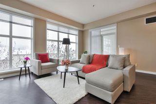 Photo 2: 346 4827 104A Street in Edmonton: Zone 15 Condo for sale : MLS®# E4221605