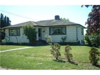 Photo 1: 4050 Carey Rd in VICTORIA: SW Marigold House for sale (Saanich West)  : MLS®# 336936