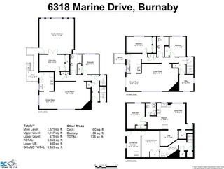 Photo 37: 6318-6320 Marine Drive in Burnaby: Big Bend Home for sale (Burnaby South)