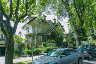 Photo 12: 1445 WALNUT STREET in Vancouver: Kitsilano Townhouse for sale (Vancouver West)  : MLS®# R2090104