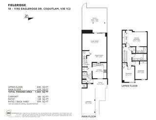 "Photo 20: 18 1140 EAGLERIDGE Drive in Coquitlam: Eagle Ridge CQ Townhouse for sale in ""FIELDRIDGE"" : MLS®# R2444136"