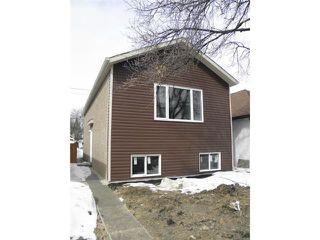 Photo 1: 272 Ferry Road in WINNIPEG: St James Residential for sale (West Winnipeg)  : MLS®# 1303289