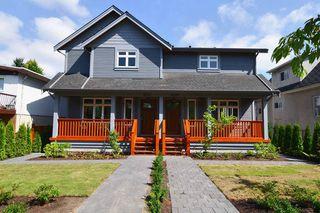 """Photo 1: 1235 E 13 AV in Vancouver: Mount Pleasant VE House 1/2 Duplex for sale in """"MOUNT PLEASANT"""" (Vancouver East)  : MLS®# V1019004"""