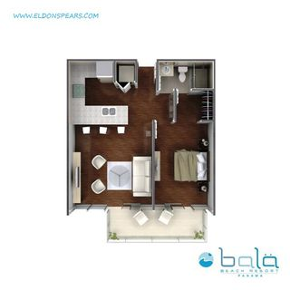 Photo 5: 1 Bedroom BALA BEACH RESORT Condo/Apartment