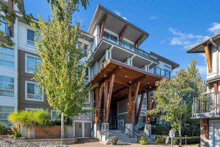 "Photo 1: 309 6688 120 Street in Surrey: West Newton Condo for sale in ""ZEN AT SALUS"" : MLS®# R2512506"