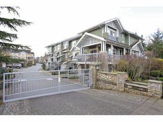 "Photo 1: 41 15168 36TH Avenue in Surrey: Morgan Creek Townhouse for sale in ""SOLAY"" (South Surrey White Rock)  : MLS®# F1228462"