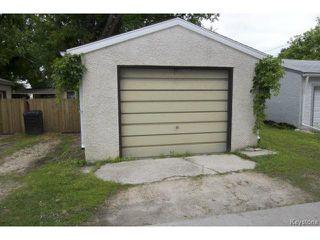 Photo 20: 111 Bristol Avenue in WINNIPEG: St Boniface Residential for sale (South East Winnipeg)  : MLS®# 1416232